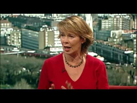 Celia Imrie The Andrew Marr Show 2009-02-08