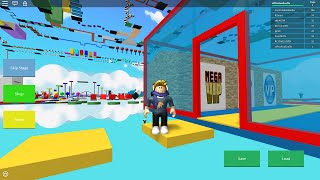 ROBLOX: Playing Mega Fun Obby!! Stage 1~70 {184!! Mega Fun Obby! NEW!}