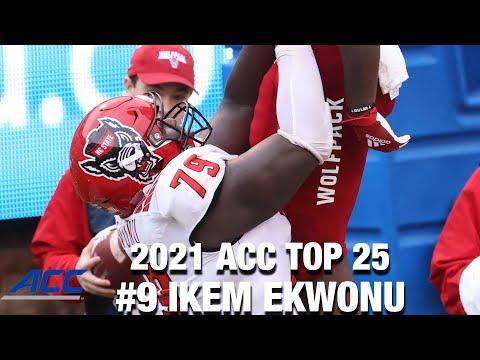 Download #9 NC State OL Ikem Ekwonu | 2021 ACC Football Top 25 Returning Players