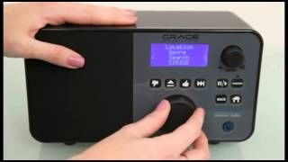 Grace Digital Wireless Hi-fi Internet Radio Tuner featuring Pandora and NPR (GDI-IRDT200)