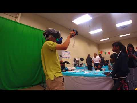 Coding Clubhouse at Maker Faire 2018 - VR Demo