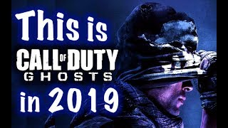 This is Call of Duty GHOST in 2019