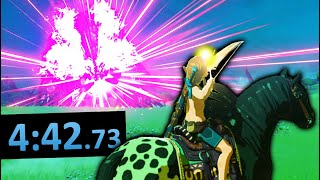 Breath of the Wild Speedruns but I ignored the rules
