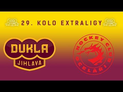 29. kolo (8.12.2017) HC Dukla Jihlava - HC Oceláři Třinec