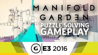 Solving Puzzles in Different Perspectives with Manifold Garden at E3 2016