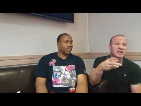 TIM WITHERSPOON *UNCUT* 2 TIME WORLD HEAVYWEIGHT CHAMP, BAD BOY SHOW, TRAINING YOUNG BOXERS