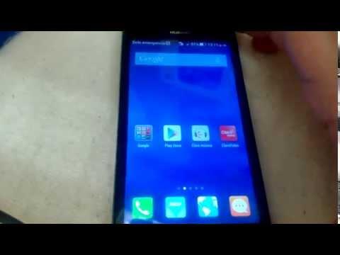Huawei Y635 Accesorios y Funciones Basicas