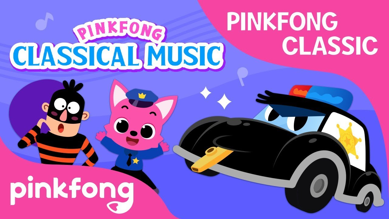 Pinkfong Classics: Toot Toot! We are Police!   Pinkfong Songs for Children