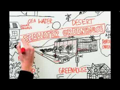 Seawater Greenhouse animated