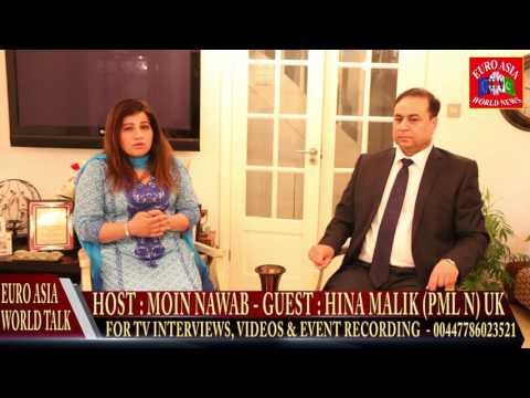 EURO ASIA WORLD TALK 18.06.2016 HINA MALIK