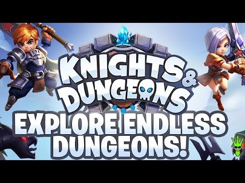 "EXPLORE ENDLESS DUNGEONS AND LEVEL UP IN ""Knights & Dungeons""! #AD"