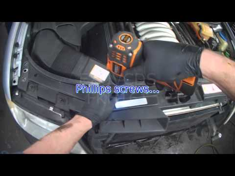 Audi C5: A6 ATQ V6 Secondary Air Pump: Part 1 Removal