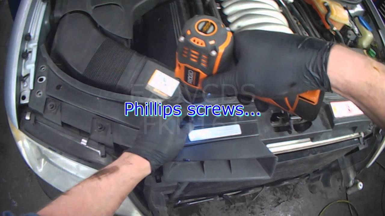 Audi C5: A6 ATQ V6 Secondary Air Pump: Part 1 Removal - YouTube  Audi on
