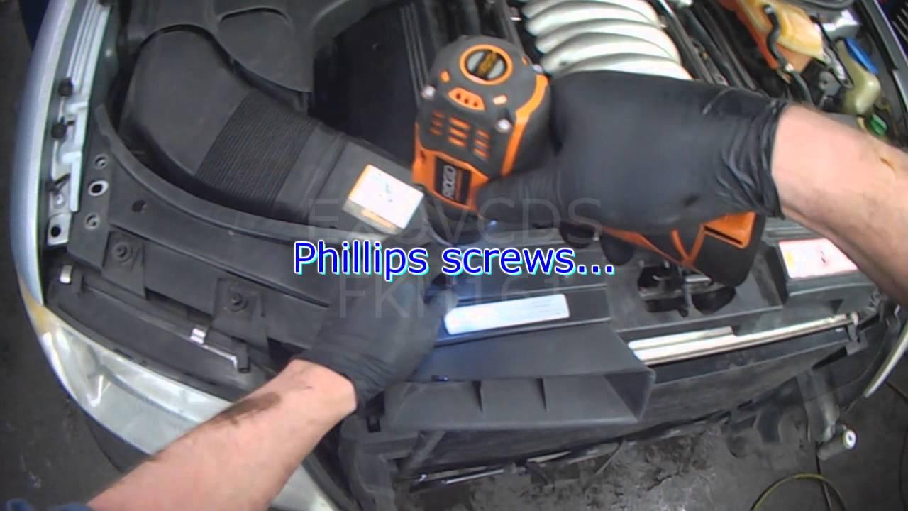 Audi C5: A6 ATQ V6 Secondary Air Pump: Part 1 Removal