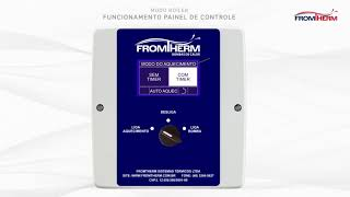 Painel Touchscreen para Água quente Sanitária - Fromtherm