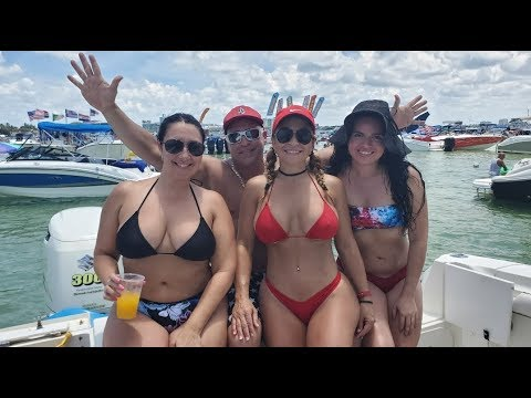 Miami Beach Sandbar 4th ofJuly weekend