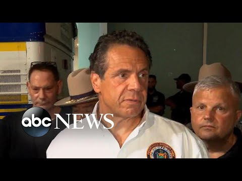 Cuomo addresses power outage in New York City
