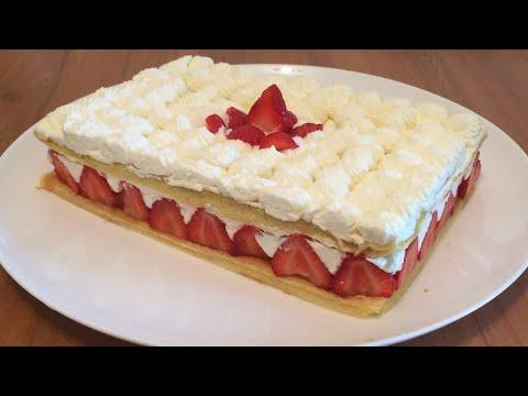 fraisier-crème-mascarpone---recette-facile