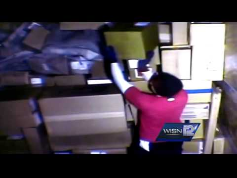 Video shows UPS worker allegedly stealing prescription drugs