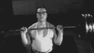 Yuri Vlasov training.