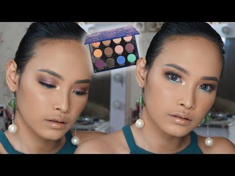 The Zodiac Palette Makeup Tutorial♌️ COLOURPOP SERIES? | Amyra Irzanti thumbnail