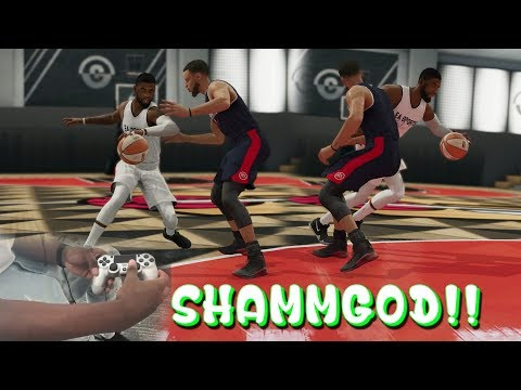 NBA LIVE 19: Shammgod Hand Cam Tutorial! EASIEST WAY POSSIBLE