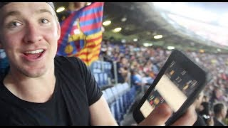 WATCHING FC BARCELONA vs REAL MADRID LIVE!! *INSANE* (Messi vs Ronaldo)