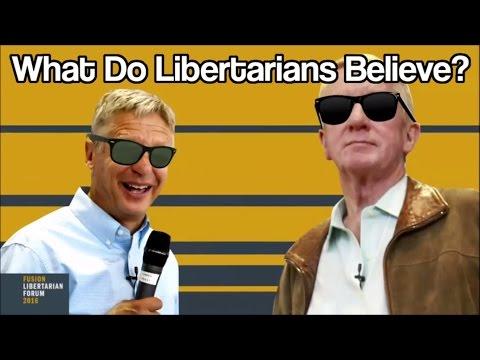 What Do Libertarians Believe?