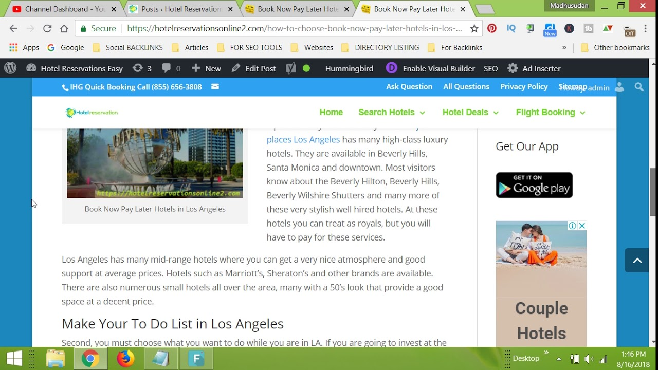 Book Now Pay Later Hotels In Los Angeles Hotel Reservations Easy