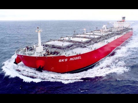 Top 10 Large Bulk Carrier Ships Working At Waves
