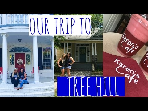 TOUR OF TREE HILL -FILMING LOCATIONS || VLOG