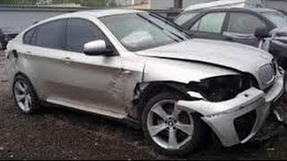 видео Аукцион битых автомобилей