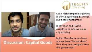 #Covid19 and P.I.E. - #CapitalGoods Sector with Mr. Shreeyash Patankar