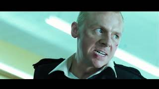 Перестрелка в Супермаркете ... отрывок из фильма (Типа Крутые Легавые/Hot Fuzz)2007