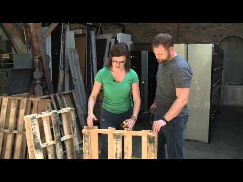 How to Build a Pallet Bench