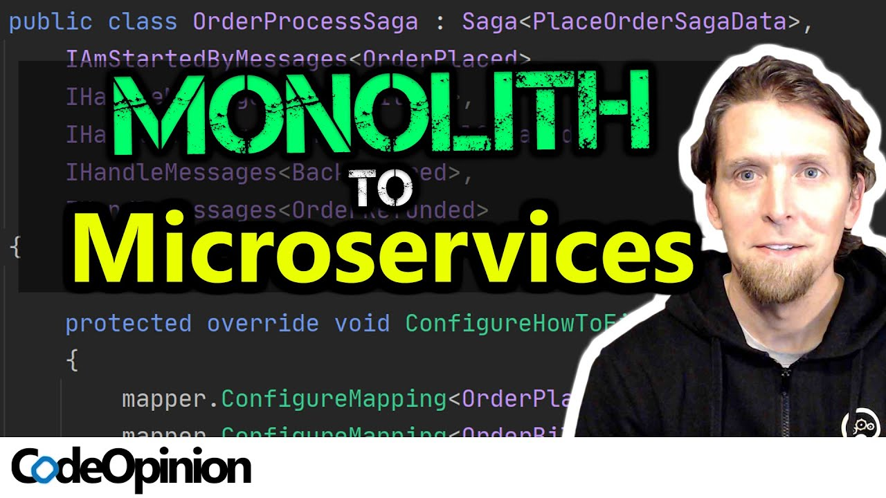 Splitting up a Monolith to (micro)Services