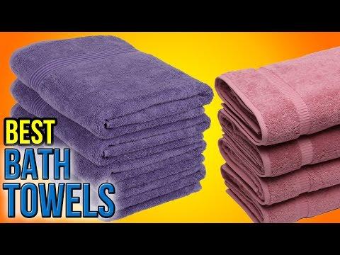 10 Best Bath Towels 2016