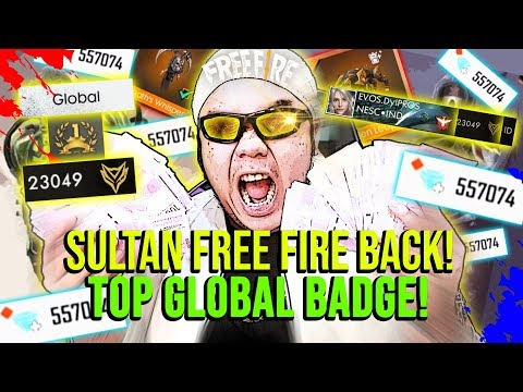 SULTAN ABISIN TOTAL 300 JUTA BUAT TOP GLOBAL BADGE INDONESIA! - Free Fire Indonesia #117