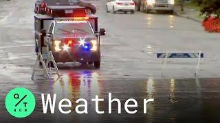 Hurricane Zeta Brings Heavy Rain, Flooding to New York and New Jersey
