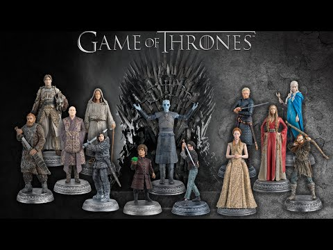 Game Of Thrones Official Model Collection 2016 - Eagle Moss Magazine - Issues 8 + 9