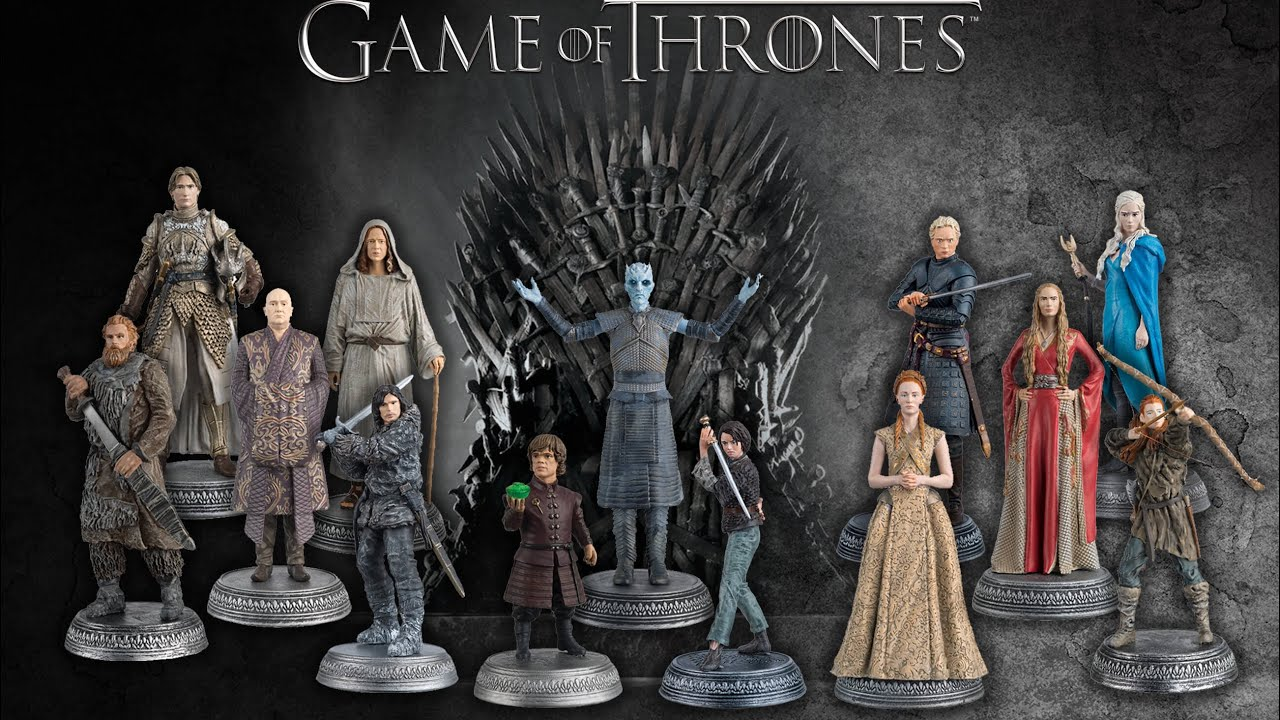 Game Of Thrones Official Model Collection 2016 - Eagle ...