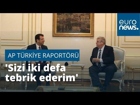 AP Türkiye Raportörü Amor'dan İmamoğlu'na: Sizi iki defa tebrik ederim, seçimleri iki kez kazandınız