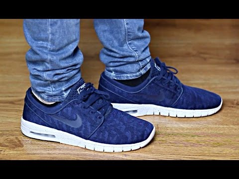 Stefan Janoski Max Quot Navy Quot On Feet Airmaxday Youtube