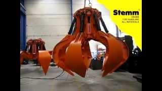 STEMM Orange Peel Grab for BIOMASS