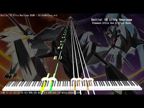 Download Battle Dusk Mane Dawn Wings Necrozma Remix Pokémon Ultra