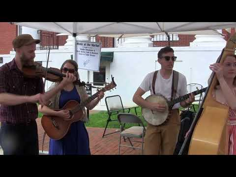 Crystal Stream Waltz- Empty Bottle String Band, 19 August 2017  Jonesborough Farmers Market