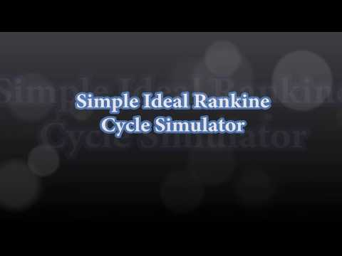 Simple Ideal Rankine Cycle  Simulator In LabVIEW