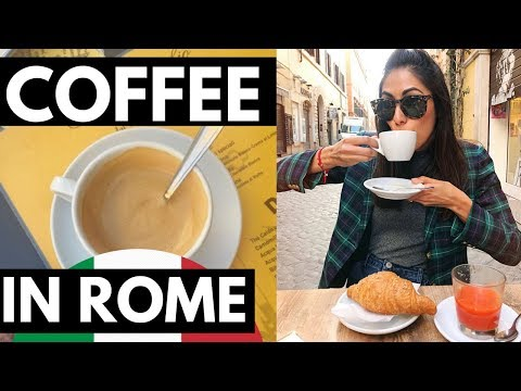 TOP COFFEE BARS IN ROME (sott ita)