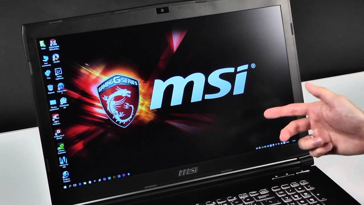 MSI GE72 6QD Apache Pro Windows 8 X64