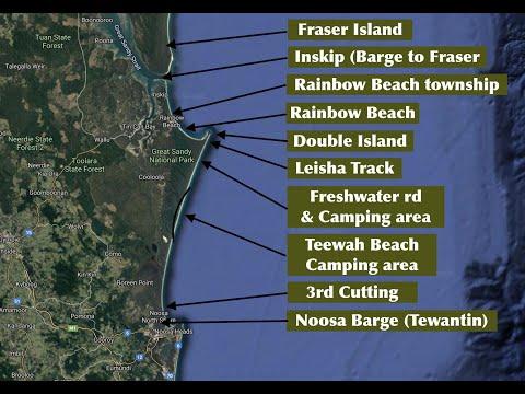 Top Tips On How To Fish Teewah Beach, Double Island And Rainbow Beach